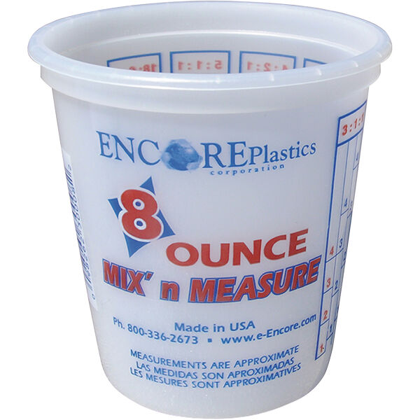 Encore Mix 'N Measure Container, 8 oz.