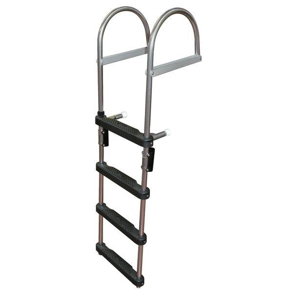 Dockmate Pontoon Transom Boarding Ladder, 4-Step