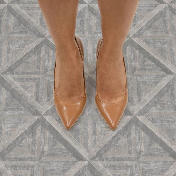 FloorPops Townhouse Peel-and-Stick Floor Tiles