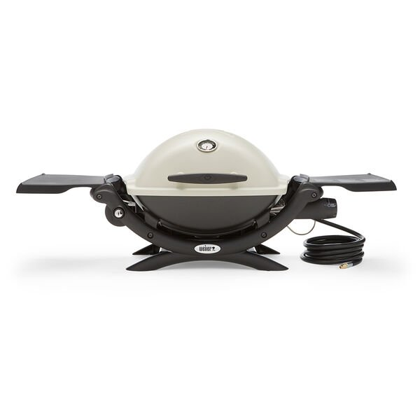 Weber Q1200 Portable Gas Grill with RV Hose