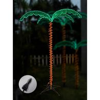12V LED Palm Tree Rope Light, 7'