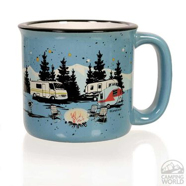 Camp Casual Mug, Blue
