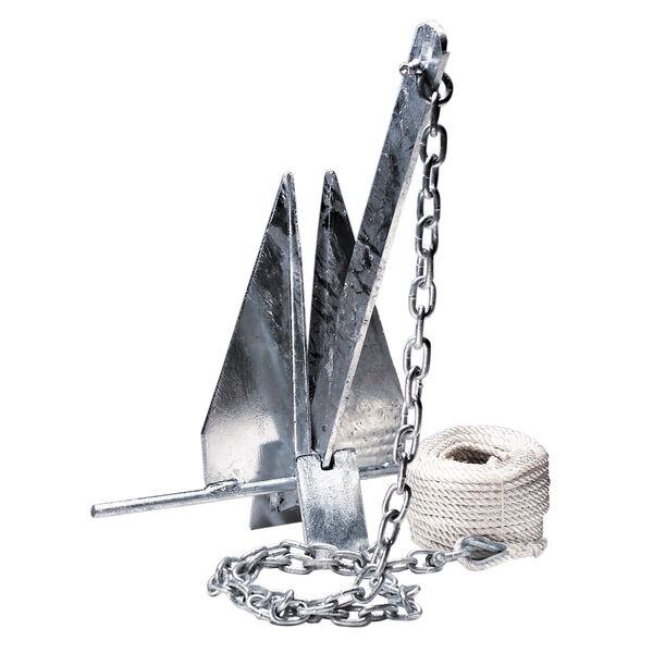 Overton's #8 Fluke-Style Galvanized Anchor Kit