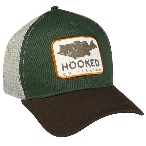 Stacks Hooked Mesh-Back Cap