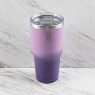 Robert Irvine Insulated 30-oz. Tumbler, Purple Ombre