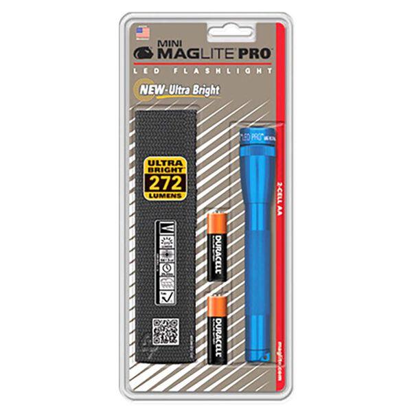 Maglite Mini Maglite Pro 2AA LED Flashlight, Blue