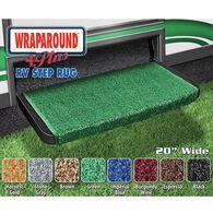 "Wraparound Plus RV Step Rug, 20"", Green"
