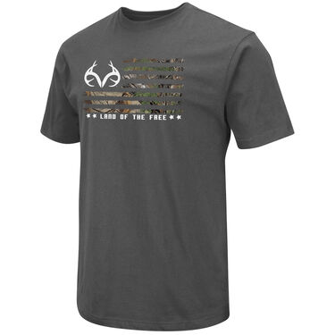 Realtree Men's Land Of The Free Short-Sleeve Tee