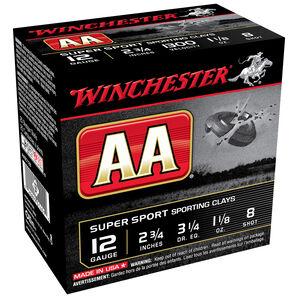 "Winchester AA Super Sport Target Loads, 12-ga., 2-3/4"", 1 oz., #7.5, 8"