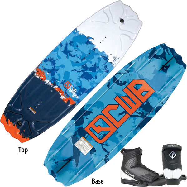 CWB Charger 119 Wakeboard With Optima Bindings