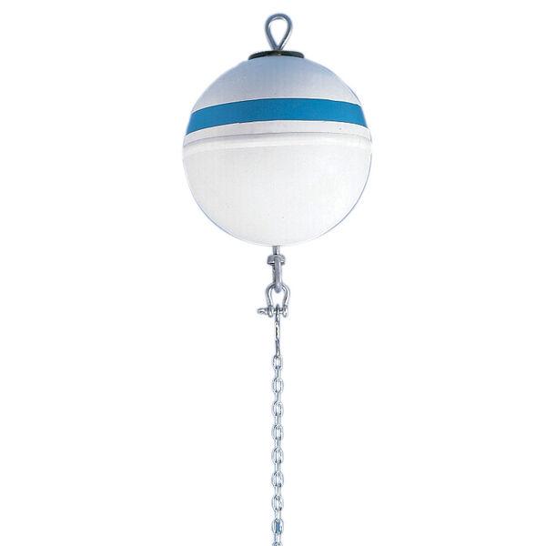 "Jim Buoy Deluxe Series Mooring Buoy With 1/2"" Swivel And Eye, 30-lb. Buoyancy"