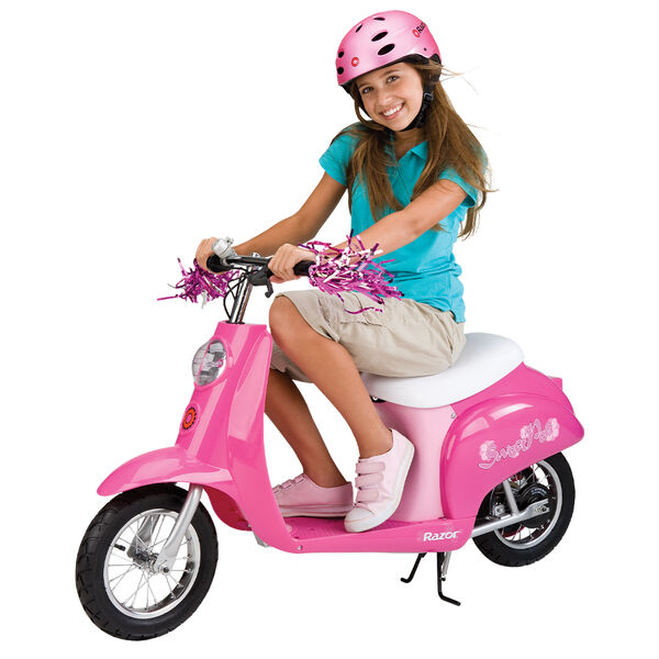 Razor Pocket Mod Pink Sweet Pea 24V Euro-Style Electric Scooter