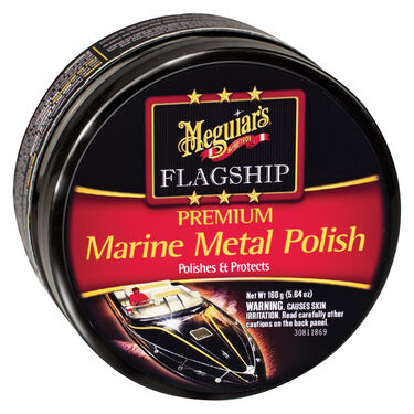 Meguiar's Flagship Marine Metal Polish, 5 oz.