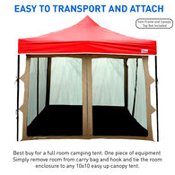 10x10 Canopy Screen House