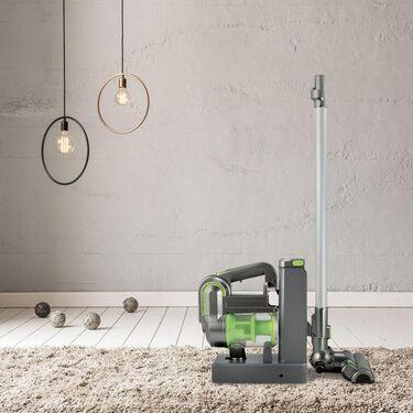 Kalorik Green/Silver 2-in-1 Cordless Cyclonic Vacuum Cleaner