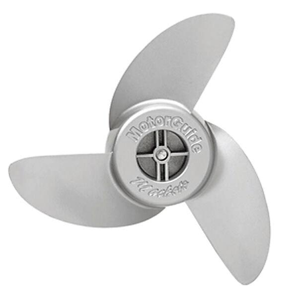 """MotorGuide Machete III 3.5"""" 3-Blade Aluminum Weedless Propeller"""