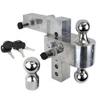"""Aluma-Tow Hitch Mount with 6"""" Drop, For 2"""" Receivers"""