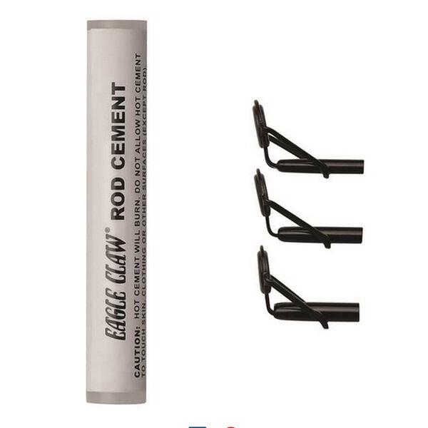 Eagle Claw Heavy-Duty Rod Tip Repair Kit