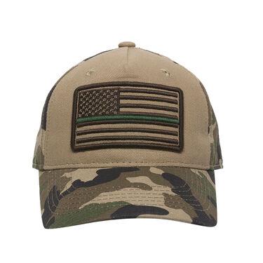 Outdoor Cap Men's Americana Thin Line Flag Logo Camo Cap