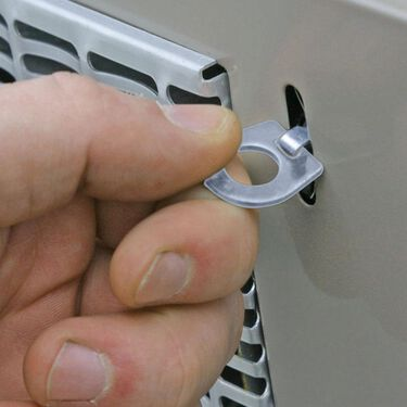 Water Heater Door Camlocs, set of 2