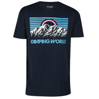 The Stacks Men's Campaing World Crags Short-Sleeve Tee