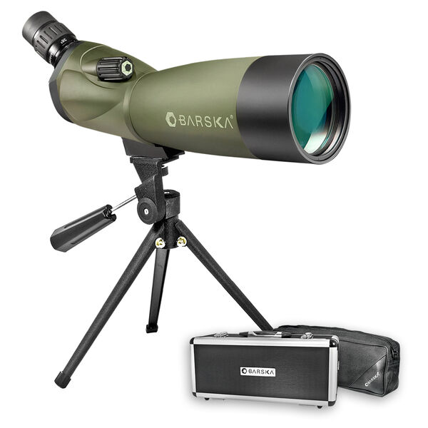Barska AD11284 20-60x60 WP Angled Blackhawk Spotting Scope Green