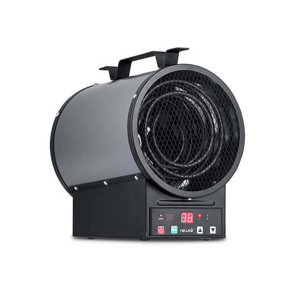 NewAir 2-in-1 Freestanding or Mounted 240V Electric Garage Heater