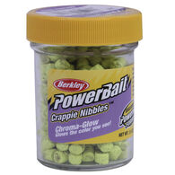 Berkley PowerBait Chroma-Glow Crappie Nibbles, 1-oz. Jar