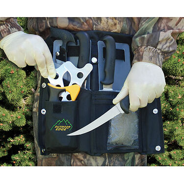 Outdoor Edge Butcher-Lite Field Processing Kit, 8-Pieces