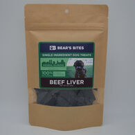 Bear's Bites Dog Treats, Beef Liver, 3 oz.