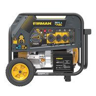 FIRMAN 10000/8000: GAS 9050/7250: LPG Watt 50A 120/240V Electric Start Hybrid Dual Fuel Portable Generator