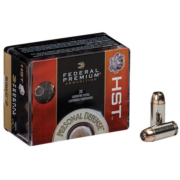 Federal Premium Personal Defense Handgun Ammo, .40 S&W, 180-gr., HST-JHP
