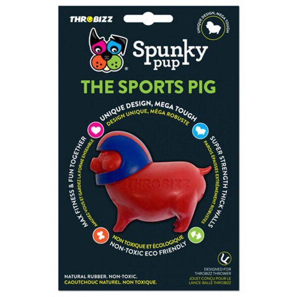 Spunky Pup Sports Pig Ball