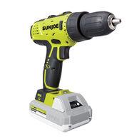Sun Joe 24V-DD-LTE 24-Volt iON+ Cordless Drill Driver Kit