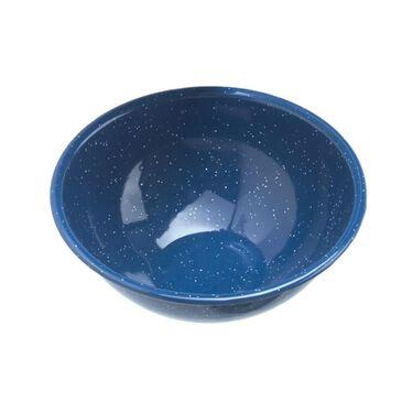"GSI Outdoors 6"" Enamelware Mixing Bowl, Blue"