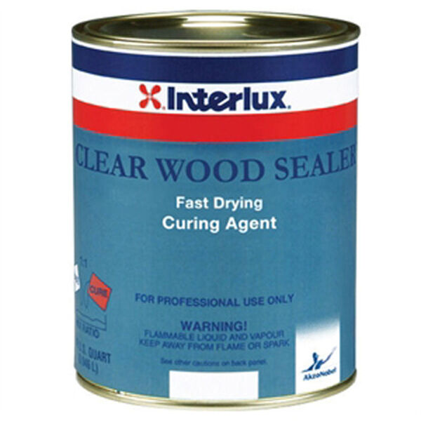 Interlux Clear Wood Sealer Curing Agent, Quart