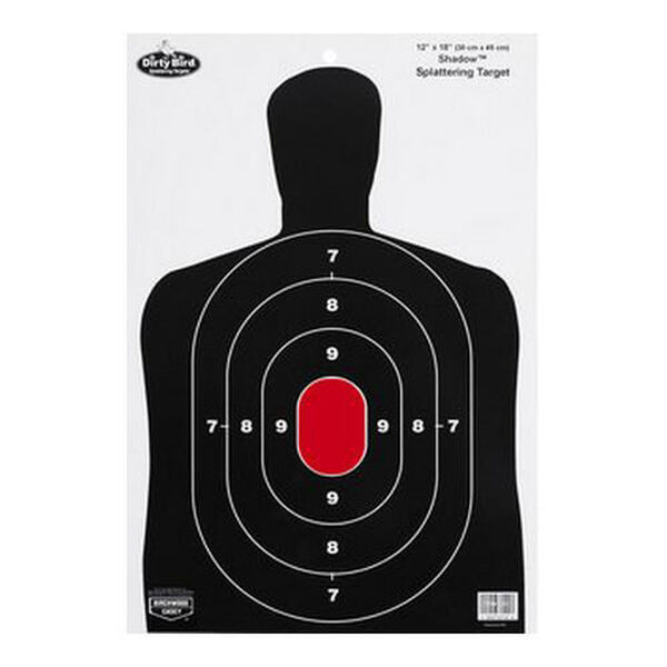 "Birchwood Casey Dirty Bird BC27 12"" x 18"" Shadow Targets, 8-Pack"