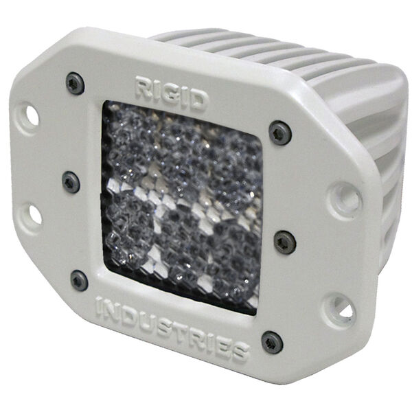 Rigid Industries M-Series Dually D2 Flush-Mount LED Light, Diffused