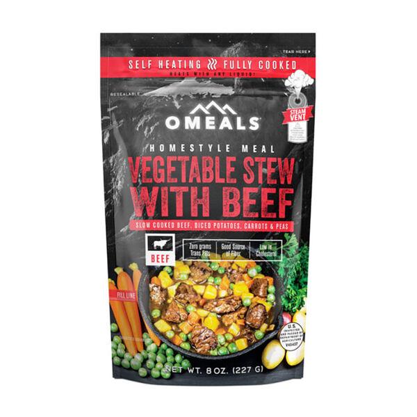 OMEALS Self-Heating Meal, Vegetable Stew Beef