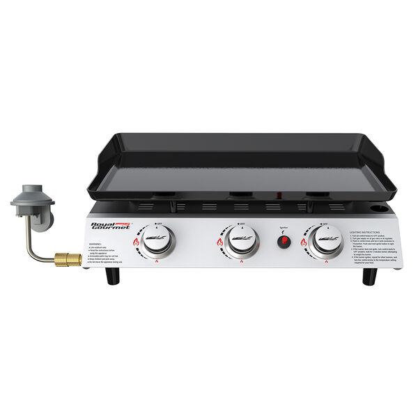 Royal Gourmet 3-Burner Portable Gas Grill Griddle