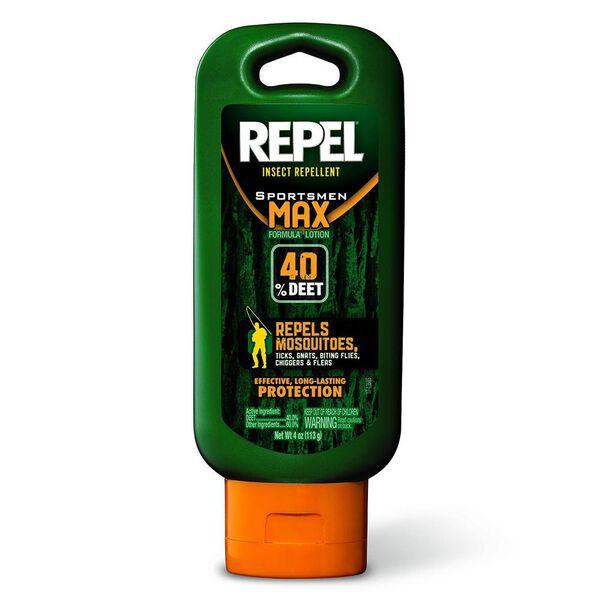 Repel Insect Repellent 4-Oz. Sportsmen Max Formula Lotion