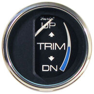 Faria Chesapeake SS Instruments Trim Gauge For Johnson/Evinrude/Suzuki