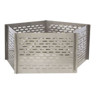 Sportsman Series Portable 5 Panel Interlocking Stainless Steel Fire Pit