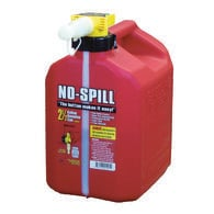No-Spill Gasoline Cans - 2.5 Gallon Gasoline Can