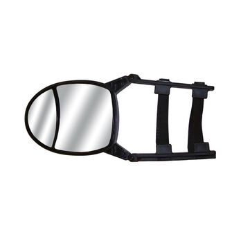 Dual-View Clip-On Tow Mirror