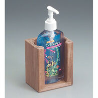 Whitecap Teak Liquid Soap Holder for 10-1/2 oz. Bottle