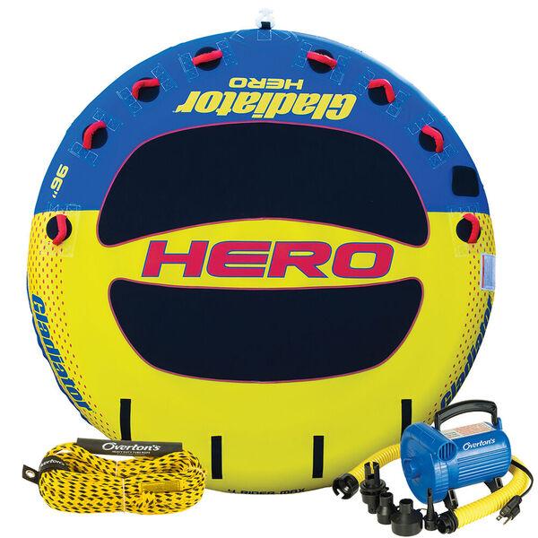 Gladiator Hero 4 Package w/ Rope & Pump