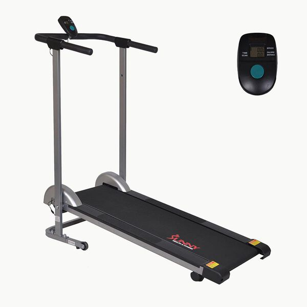 Folding Manual Walking Treadmill