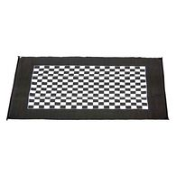 Checkered Racing Patio Mat, 9' x 12'