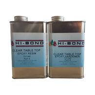 Hi-Bond Clear Tabletop Epoxy Resin System, Makes 1 Quart